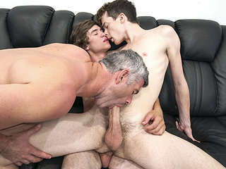 familyDick - Stepdad Walks In on him With The Boy Next Door