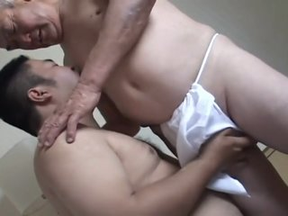 hot bear with daddy