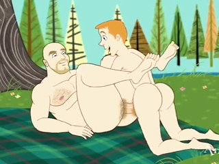 Very exciting gay cartoon 6