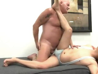 Stepson craves his married stepfather's cock