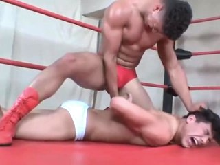 Crazy porn scene gay Wrestling incredible like in your dreams