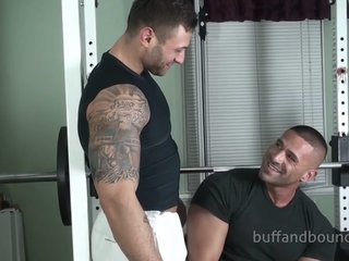 Buff bound Mikebuffalari Samrizzo Muscle bound Worshipped (Wrestling)