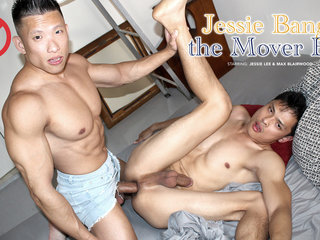 Jessie Bangs The Mover Boy - Peterfever