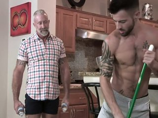 Lance Charger And Casey Everett In Helpful Grandson Makes Me Cum