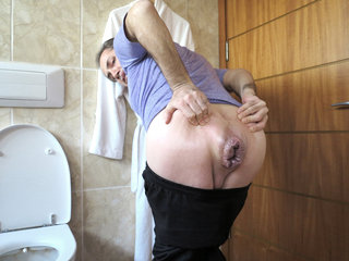 Mr BigHOLE Big Ass Gay Escort Gaped Destroyed by 12 Inch Kin