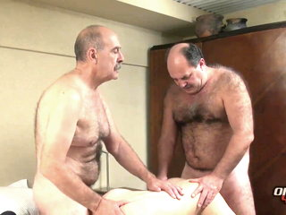 Mr Hackman and Luiggi fuck younger - older4me