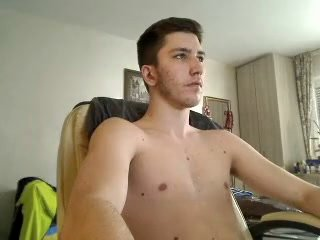 Serbian Gorgeous Str8 Boy With Very Big Bubble Ass On Cam